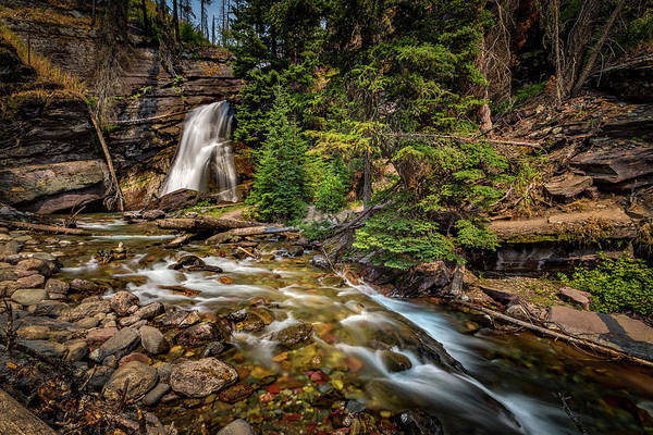 Photograph - Bening Falls  by Peter Tellone