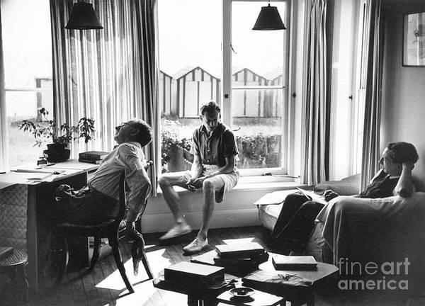Photograph - Benjamin Britten by Granger
