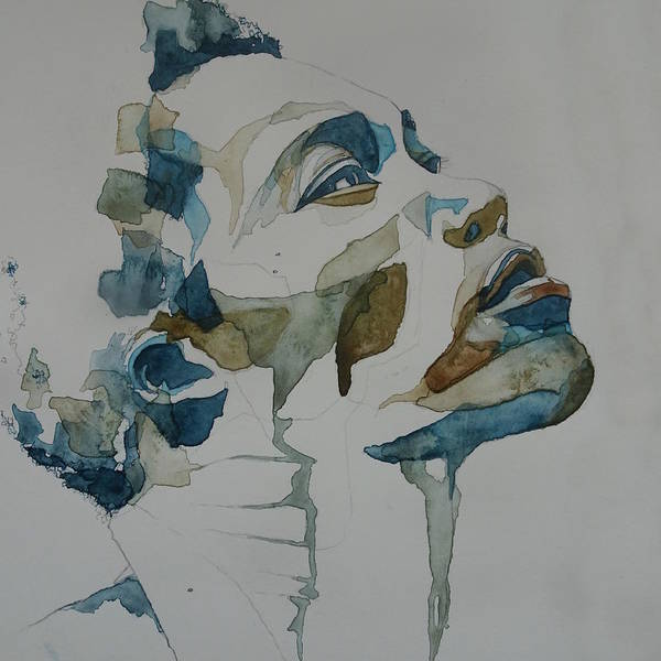 Wall Art - Painting - Benjamin Clementine by Paul Lovering