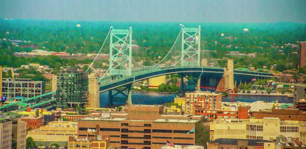 Photograph - Benjamin Franklin Bridge  by Bill Cannon