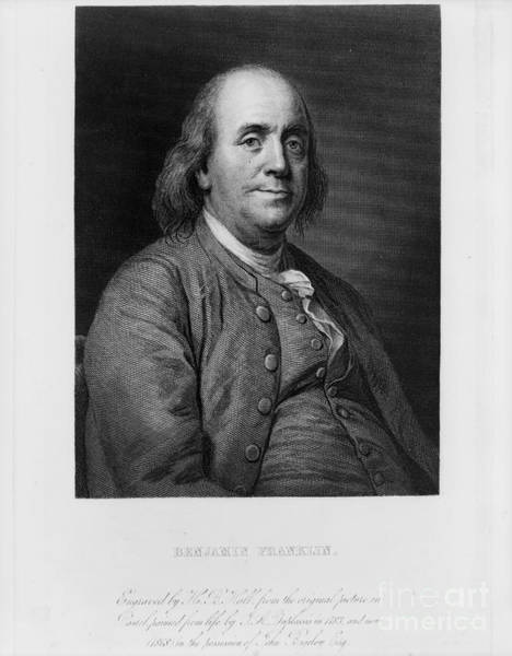Painting - Benjamin Franklin by Celestial Images