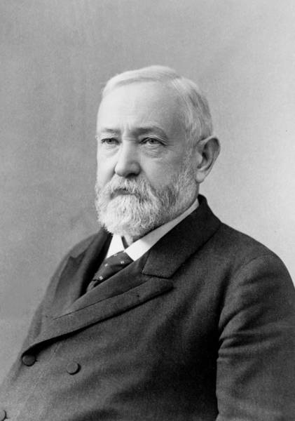 Wall Art - Photograph - Benjamin Harrison - President Of The United States by International  Images