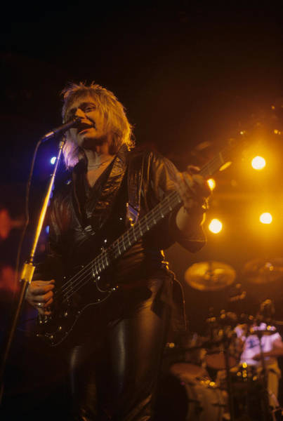 Photograph - Benjamin Orr Of The Cars by Rich Fuscia