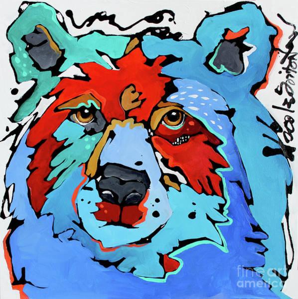 Benjamin The Bear Art Print