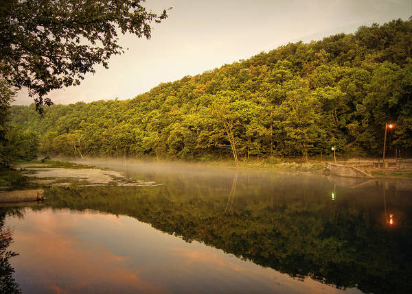 Photograph - Bennett Springs Reflections by Cricket Hackmann