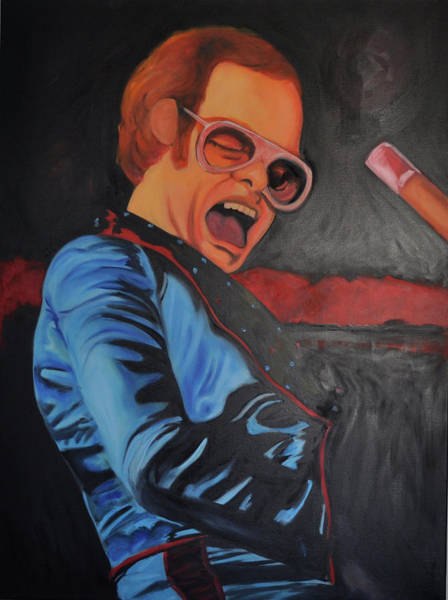 Benny Painting - Benny And The Jet by Mitchell Todd