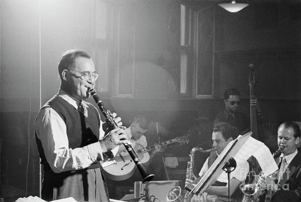 Wall Art - Photograph - Benny Goodman Orchestra  by The Harrington Collection
