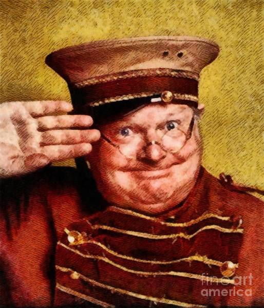 Benny Painting - Benny Hill, Comedy Legend By John Springfield by John Springfield