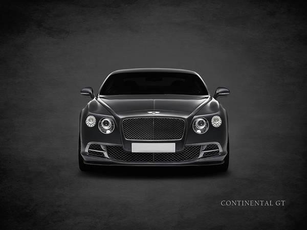 Continental Wall Art - Photograph - Bentley Continental Gt by Mark Rogan