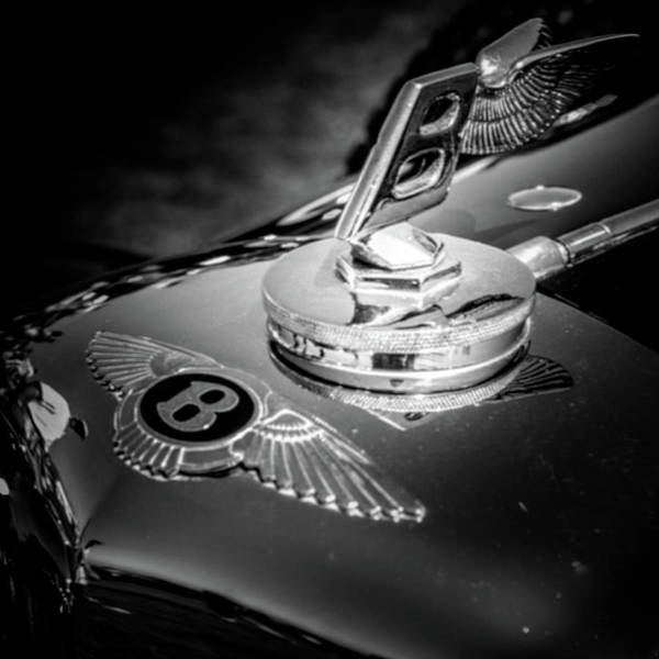Photograph - Bentley Hood Ornament by Samuel M Purvis III