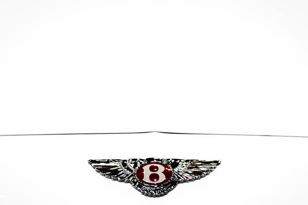 Photograph - Bentley Insignia by Stuart Litoff
