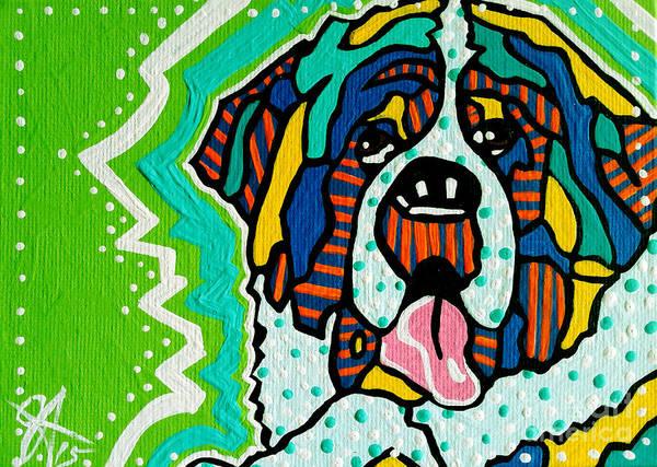 Tibetan Mastiff Painting - Bentley by Jackie Carpenter