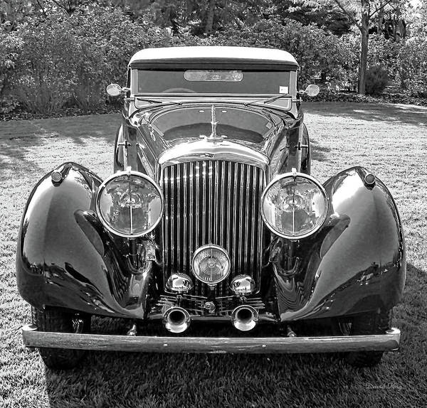 Photograph - Bentley Speedster by David King