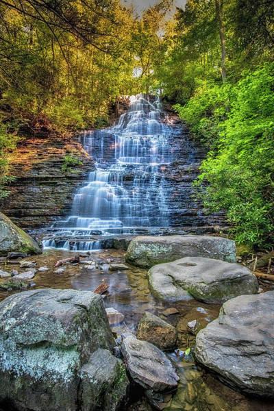 Wall Art - Photograph - Benton Falls by Paul Freidlund
