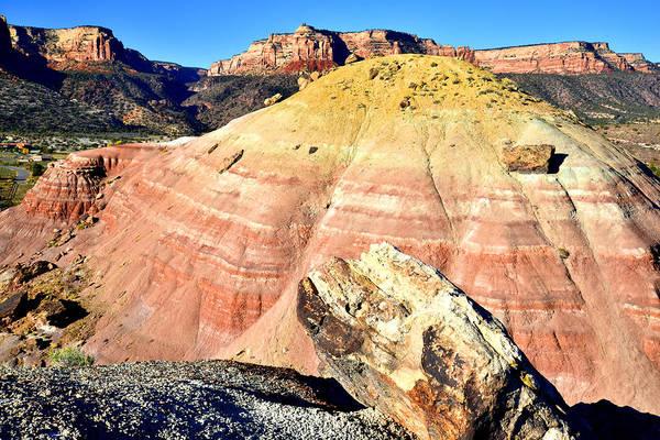 Photograph - Bentonite Clay Dune by Ray Mathis