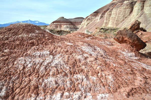 Photograph - Bentonite Clay Dunes by Ray Mathis