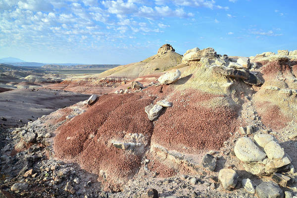 Photograph - Bentonite Color In Cathedral Valley by Ray Mathis