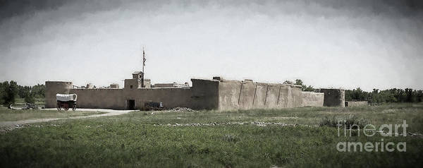 Photograph - Bent's Old Fort by Jon Burch Photography