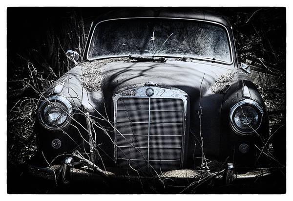 Junkyard Photograph - Benz by Robert Fawcett