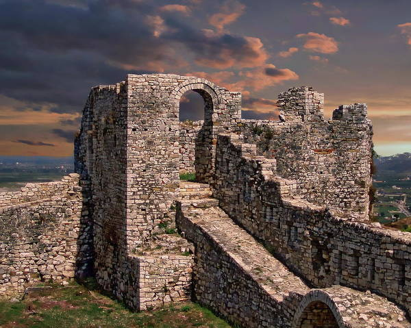 Photograph - Berat Castle by Anthony Dezenzio