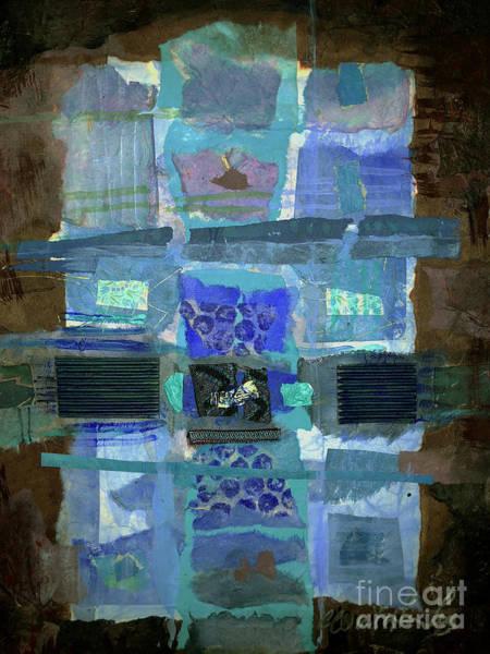 Nomad Mixed Media - Berber Cross by Carol Worthington-Levy