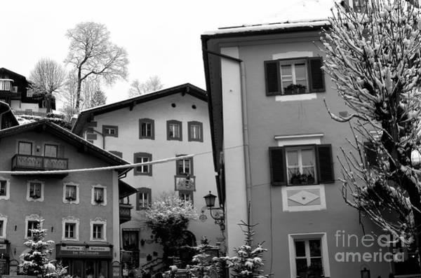 Photograph - Berchtesgaden Buildings by John Rizzuto