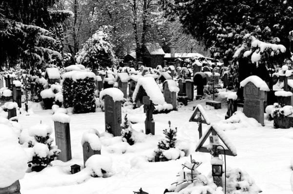 Photograph - Berchtesgaden Cemetery by John Rizzuto