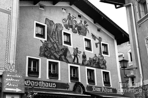 Wall Art - Photograph - Berchtesgaden Gasthaus by John Rizzuto