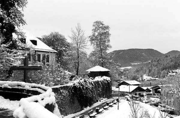 Photograph - Berchtesgaden Snow View by John Rizzuto