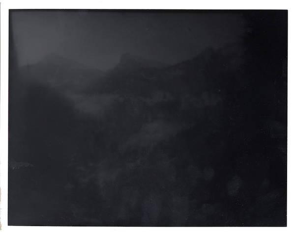 Digital Art - Berg Blick Bei Nacht by Doug Duffey