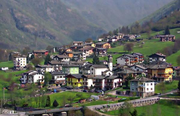 Photograph - Bergamo Townscape by Anthony Dezenzio