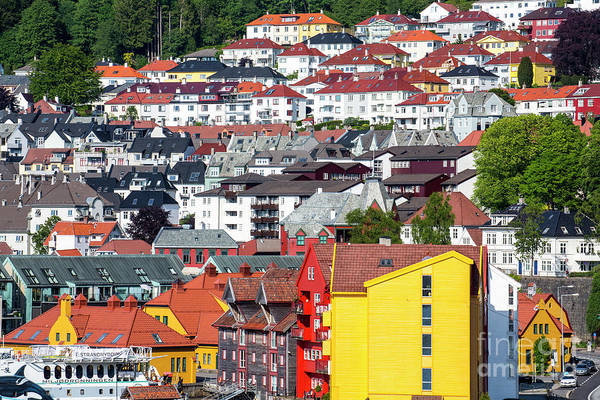 Wall Art - Photograph - Bergen, Norway by Sheila Smart Fine Art Photography
