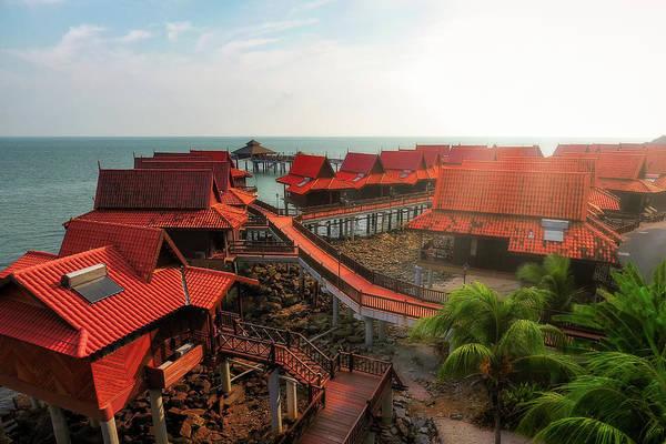 Photograph - Berjaya Chalets - Langkawi, Malaysia by Nico Trinkhaus