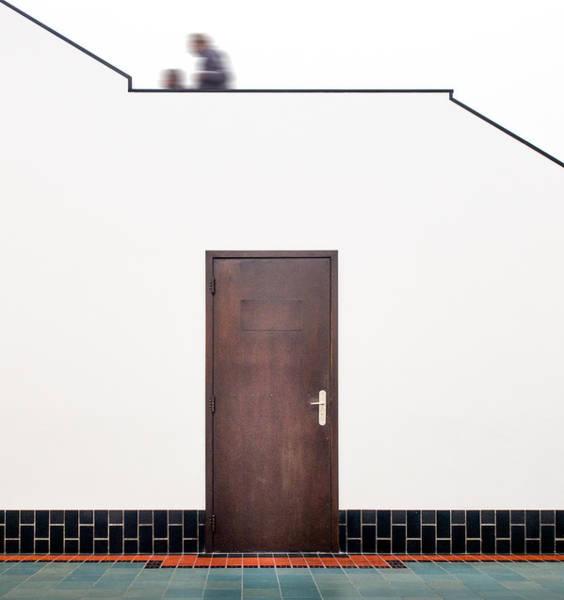Detail Photograph - Berlage's Door II by Luc Vangindertael