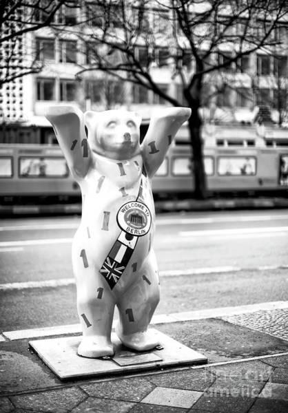 Wall Art - Photograph - Berlin Bear Welcome by John Rizzuto
