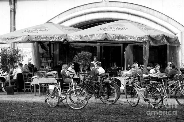 Wall Art - Photograph - Berlin Cafe Scene by John Rizzuto
