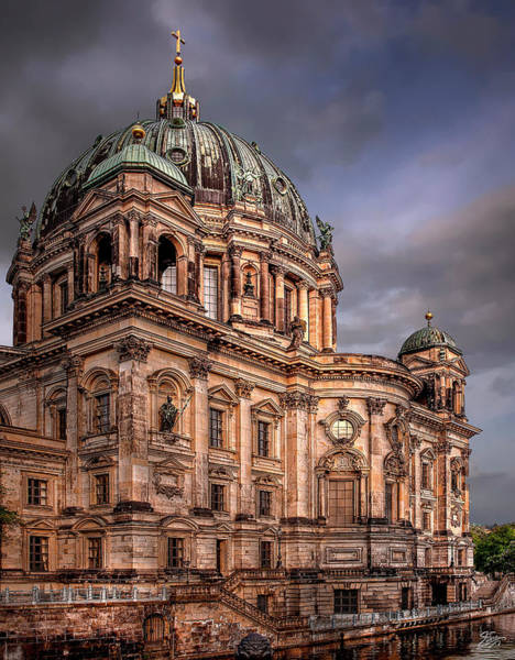 Photograph - Berlin Cathedral At Dawn by Endre Balogh