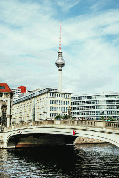 Wall Art - Photograph - Berlin City View by Pati Photography