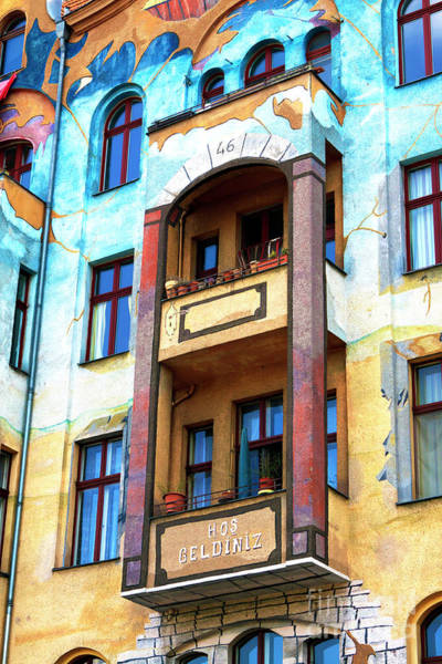 Photograph - Berlin Colorful Architecture by John Rizzuto