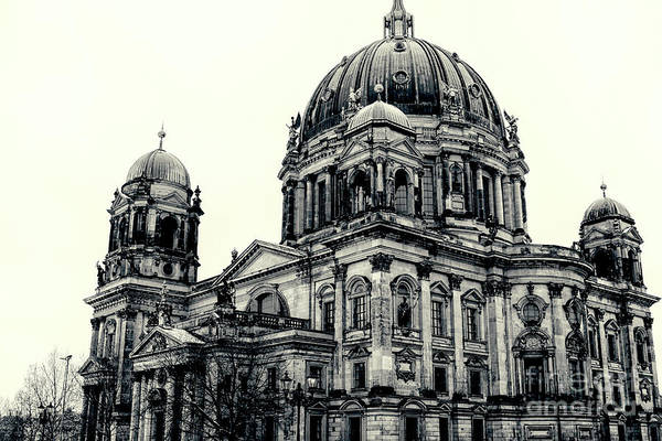 Berlin Cathedral Photograph - Berlin Dom by Patricia Hofmeester