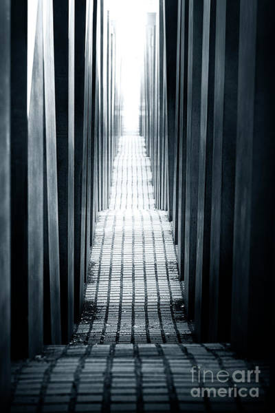 Holocaust Photograph - Berlin Holocaust Memorial by John Rizzuto