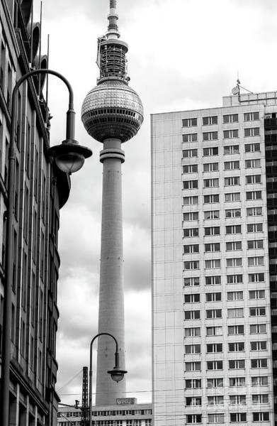 Wall Art - Photograph - Berlin Lines by John Rizzuto