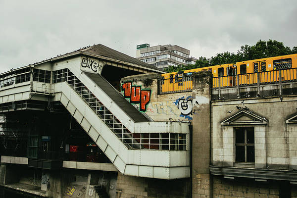 Wall Art - Photograph - Berlin S-bahn Station by Pati Photography