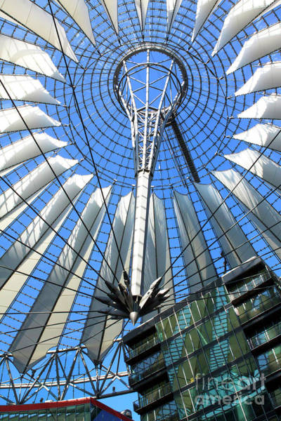 Photograph - Berlin Sony Center by John Rizzuto