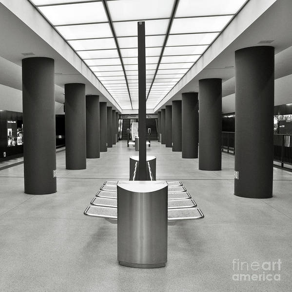 Photograph - Berlin Tube Station - Brandenburg Gate by Silva Wischeropp