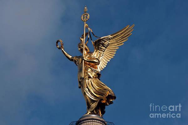 Photograph - Berlin Victory Column by Silva Wischeropp