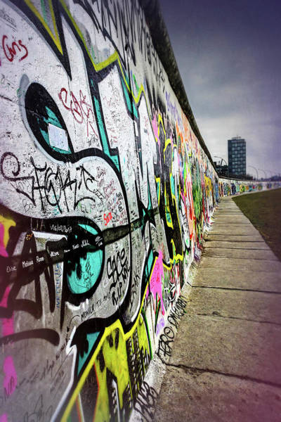 East Side Photograph - Berlin Wall Germany  by Carol Japp
