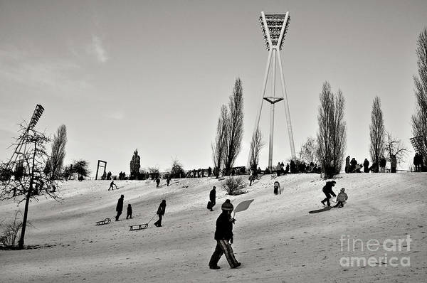 Photograph - Berlin Winter Sound by Silva Wischeropp