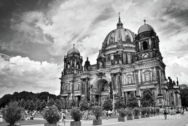 Berlin Cathedral Photograph - Berliner Dom by Delphimages Photo Creations
