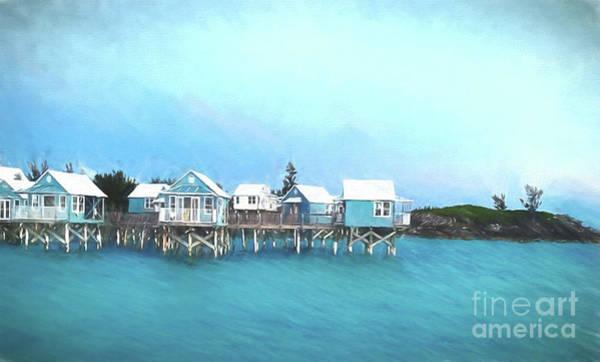 Hillary Clinton Photograph - Bermuda Coastal Cabins by Luther Fine Art